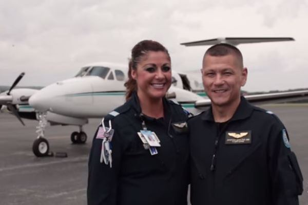 Transport Therapists Create Calm in the Skies