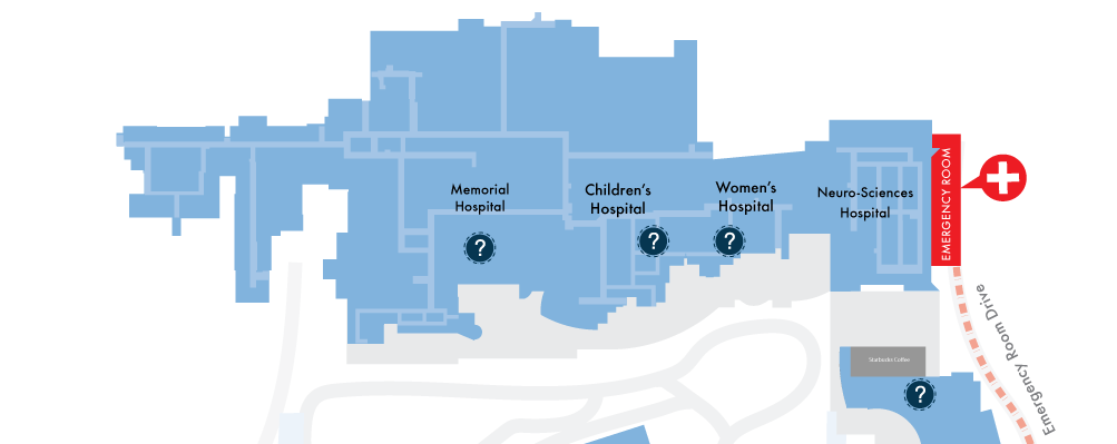 Where to Find Information Desks at UNC Medical Center