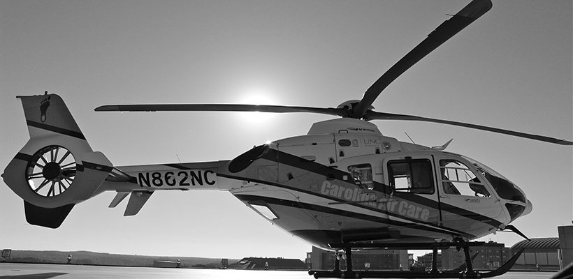 Carolinina Air Care Helicopter