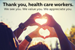 Thank You, Health Care Workers!